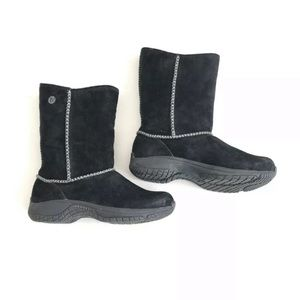 Merrell Boots Encore Stitch High Black Suede. 8.5